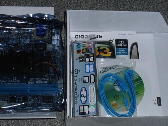 GIGABYTE E350N-USB3 内容物.jpg